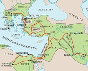 Alexander's Empire (detail)