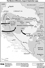 The War in Bosnia, 1995